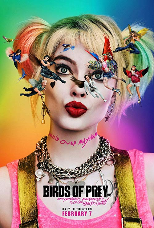 Movie poster for Harley Quinn Birds of Prey