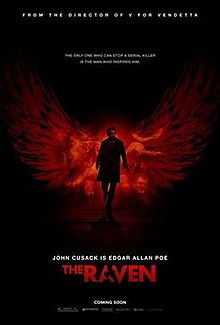 Poster for movie The Raven starring John Cusack