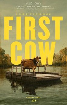 Theatrical poster for the movie First Cow
