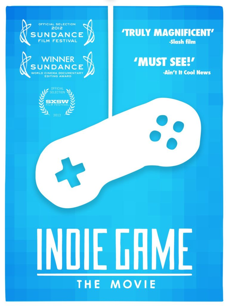 Movie poster for indie game the movie