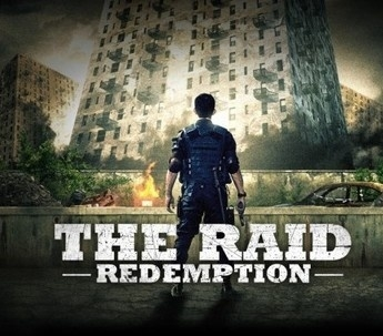 Movie Poster for the raid redemption