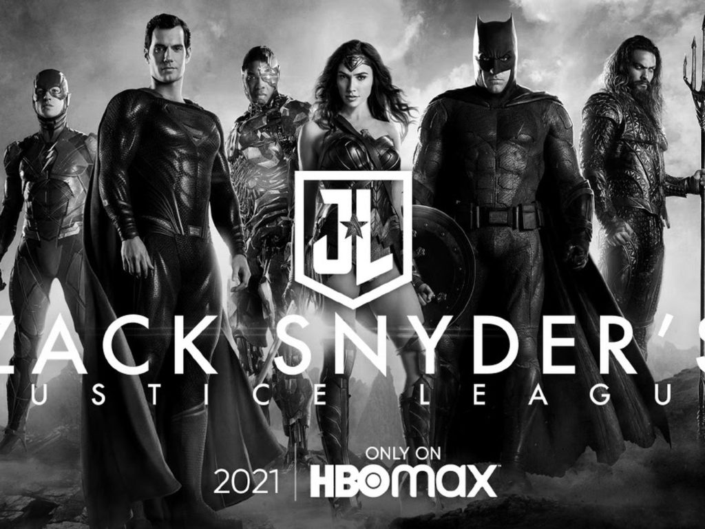 zack synders justice league poster