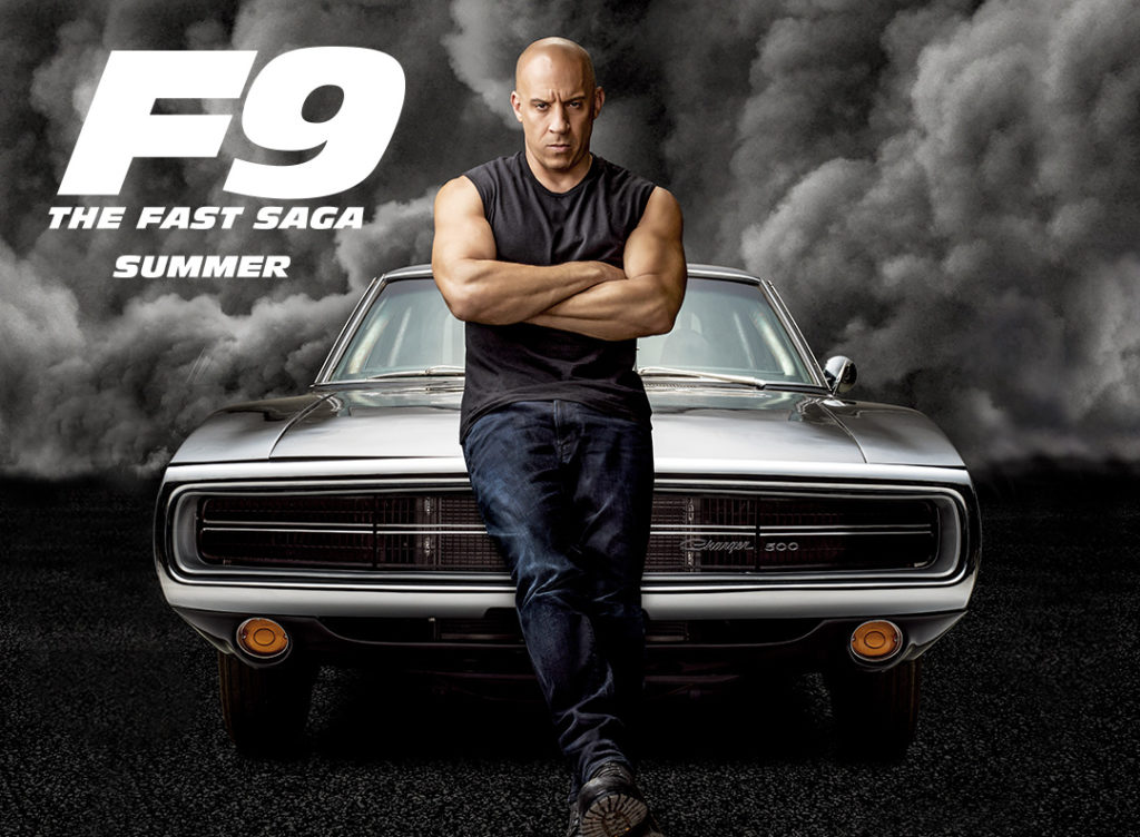 Fast and Furious 9: The Fast Saga poster